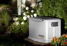whole home standby generator installation